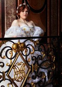 Cosplay-Cover: Kaiserin Elisabeth von Österreich Sternenkleid
