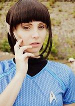 Cosplay-Cover: Commander Spock (female)