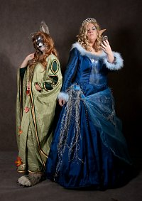 Cosplay-Cover: Talvia (Geist des Winters)