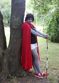 Cosplay-Cover: Terezi Pyrope (drunk)