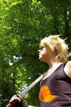 Cosplay-Cover: Dirk Strider [Wifebeater]