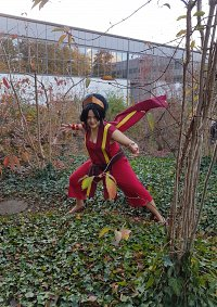 Cosplay-Cover: Toph Feuernation Outfit