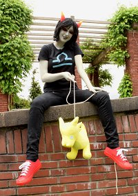 Cosplay-Cover: Terezi Pyrope