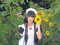 Cosplay-Cover: Mio Akiyama (Maid outfit)