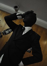 Cosplay-Cover: Slenderman(Black)