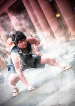 Cosplay-Cover: Monkey D. Luffy ♪ Film Gold - Black / Battle Suit