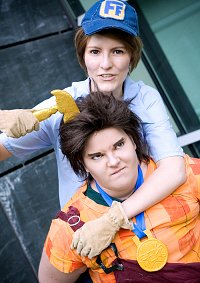 Cosplay-Cover: Fix-It Felix, Jr.