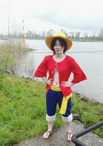 Cosplay-Cover: Luffy