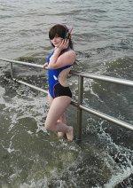 Cosplay-Cover: D.Va (Swimsuit)