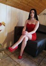 Cosplay-Cover: Boa Hancock (Red dress)