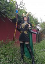 Cosplay-Cover: Lady Loki (Remake)