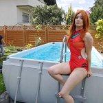 Cosplay: Asuka (Swimsuit)
