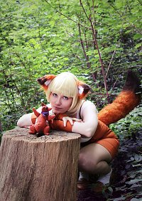 Cosplay-Cover: Kyurin the Kitsune