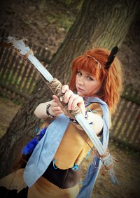 Cosplay-Cover: Aloy [young]