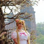 Cosplay: Usagi Tsukino - White Lolita