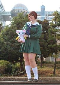 Cosplay-Cover: Hikari Yagami [Tri Schuluniform]