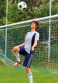 Cosplay-Cover: Yagami Taichi (Tri Soccer Trikot)