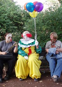Cosplay-Cover: Pennywise, der tanzende Clown (Stephen King's ES)