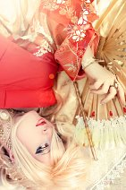 Cosplay-Cover: Ho-Oh [Gijinka]