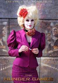 Cosplay-Cover: Effie Trinket