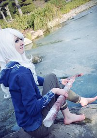 Cosplay-Cover: Jack Frost (female)
