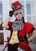 Cosplay-Cover: Ciel Phantomhive (Queen of Hearts)