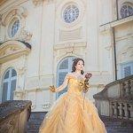 Cosplay: Belle [Ballkleid]