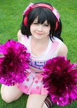 Cosplay-Cover: Nico Yazawa (Cheerleader)