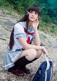 Cosplay-Cover: Kurosawa Dia (School uniform)