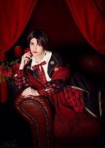 Cosplay-Cover: Kashuu Kiyomitsu (Lolita)
