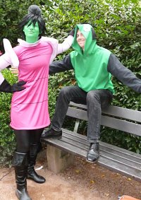 Cosplay-Cover: Invader Zim