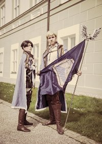 Cosplay-Cover: Levi Wings of Counterattack (blue)