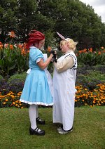 Cosplay-Cover: Roxas - Weißer-Alice-Hase