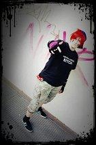 Cosplay-Cover: Riko [OC Team Magma Rüpel] Visual Kei Style