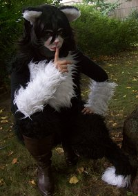 Cosplay-Cover: Kitty Samtpfote