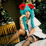 Cosplay: Miku [ World is mine]