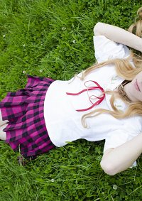 Cosplay-Cover: Azuki Azusa (School outfit)