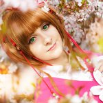 Cosplay: Sakura Kinomoto [Chinese Flower]