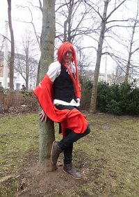 Cosplay-Cover: Grell Sutfliff