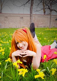 Cosplay-Cover: Soryu Asuka Langley - Artwork Kleid
