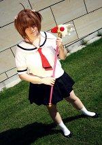 Cosplay-Cover: Sakura Kinomoto [Summerschoolsuit]