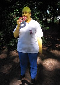 Cosplay-Cover: Homer Simpson