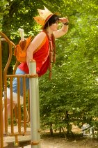 Cosplay-Cover: Luffy (Skypia)
