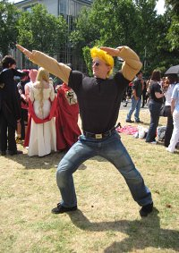 Cosplay-Cover: johnny bravo