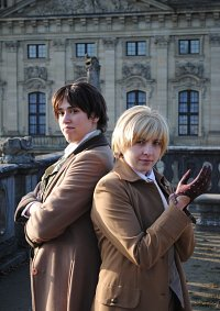 Cosplay-Cover: Professor Lyall (Gail Carrigers Soulless)