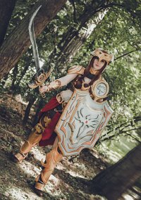 Cosplay-Cover: Valkyrie Leona
