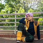 Cosplay: Trunks Briefs [Teenager end Dragonball Z]