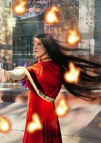 Cosplay-Cover: Sailor Mars Winterversion