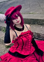 Cosplay-Cover: Angelina Durless (Madame Red)