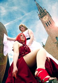 Cosplay-Cover: Hakaze Kusaribe Gown